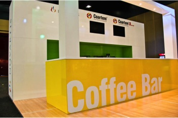 Exhibition Stand Coffee : Shades of green exhibition events durban south africa