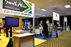 Exhibition Stands East3Route Roadshow, Swaziland 2013