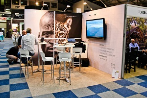 Exhibition Stands: Time & Tide, Tourism Indaba 2014