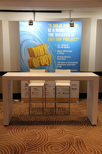 Exhibition Infrastructure: JD Edwards Summit, Durban 2015