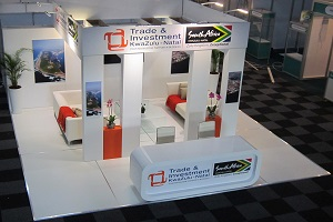 Exhibition Stands: TIKZN, SAITEX, Johannesburg, 2015