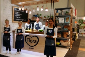 Exhibition Stand: Flora Gold, Good Food & Wine Show, Cape Town, 2015