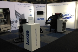 Exhibition Stand: SA Power, KZN Industrial Show, Durban, 2015