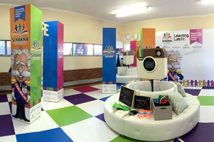 Exhibition Stands: Siyakha Learning Lab