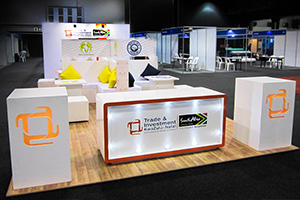 Exhibition Stands: TIKZN, KZN Business Fair, Durban, 2015