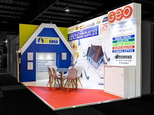 Exhibition Stands, Interbuild 2018, Big Build Geo Sales