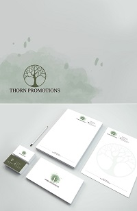 Branding, Logo & Business Card Design, Thorn Promotions